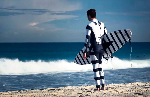 Watch: Man In Shark Safe Suit!