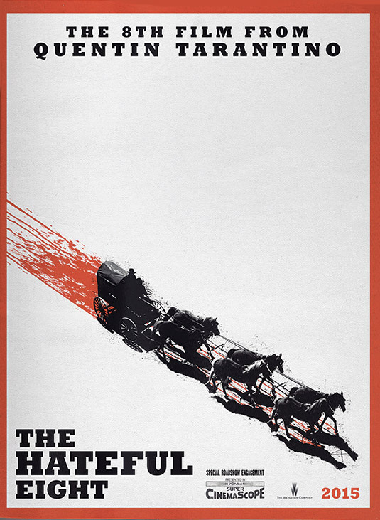 The New Tarantino Poster For 'The Hateful Eight'