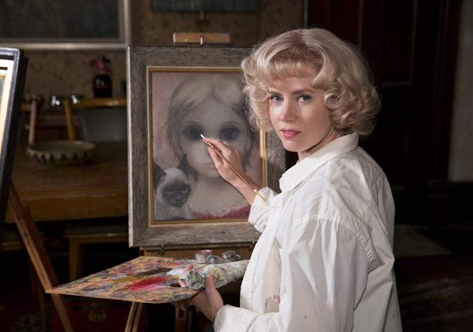 Amy Adams And Christoph Waltz In Tim Burton's 'Big Eyes'
