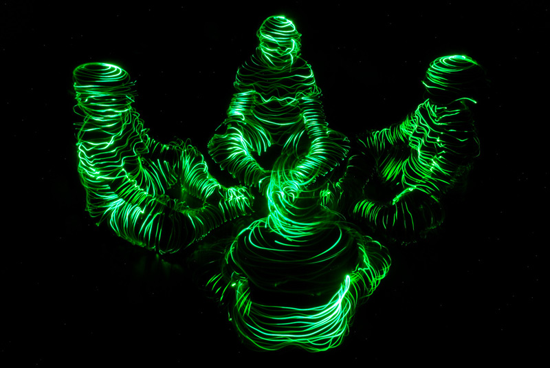 The Amazing Light Painting Photography Of Janne Parviainen