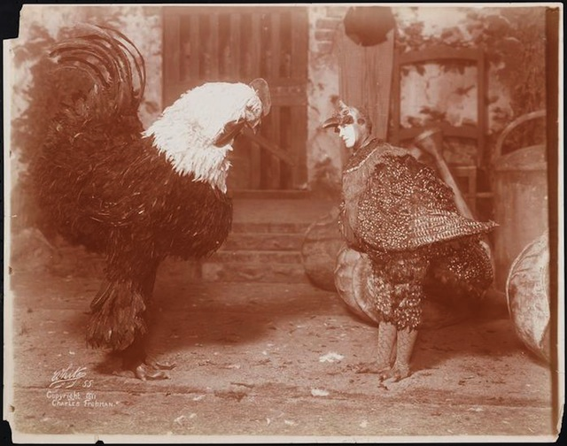 Surreal Photos from an Early 20th-Century Broadway Bestiary