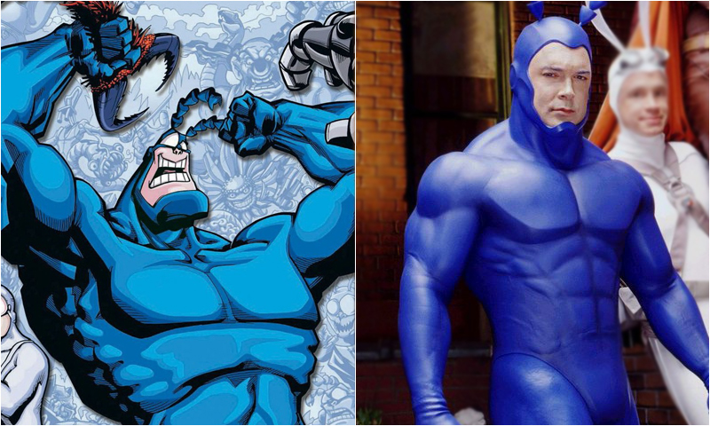 Patrick Warburton Set to Return in The Tick