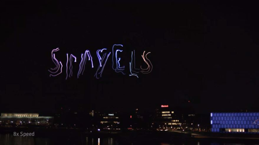 Watch: Light Painting With Drones