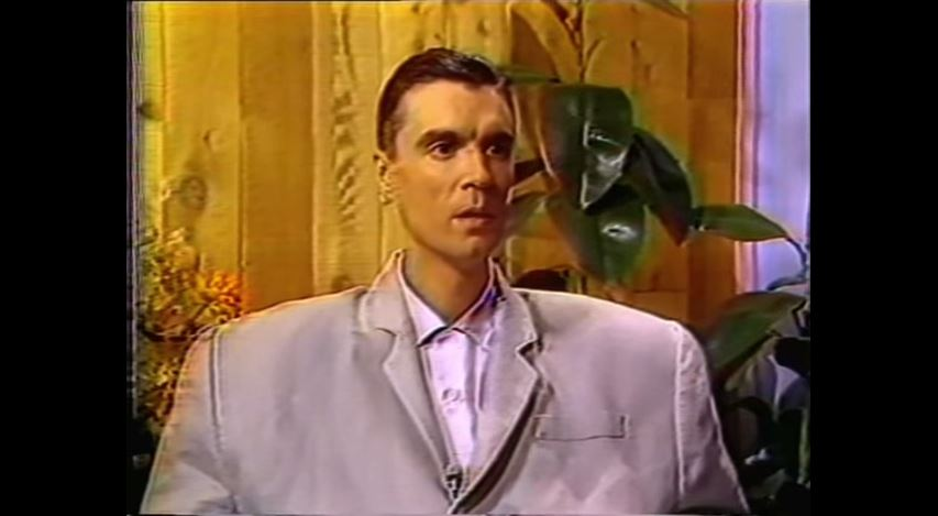 Watch: David Byrne interviews himself