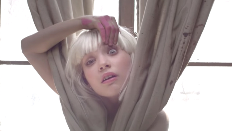 The Scariest Thing All Week: Musicless Video-Sia's Song 'Chandelier'