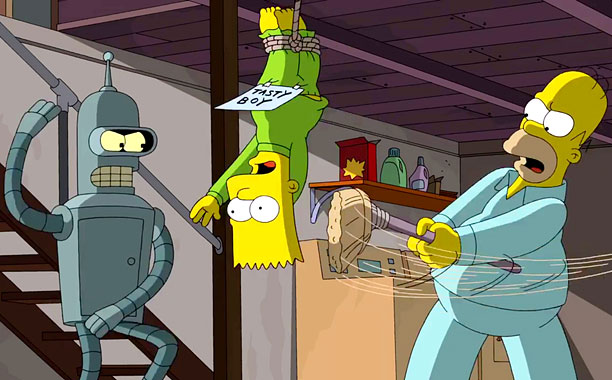 'Simpsons'-'Futurama' crossover! Coming November 9th!