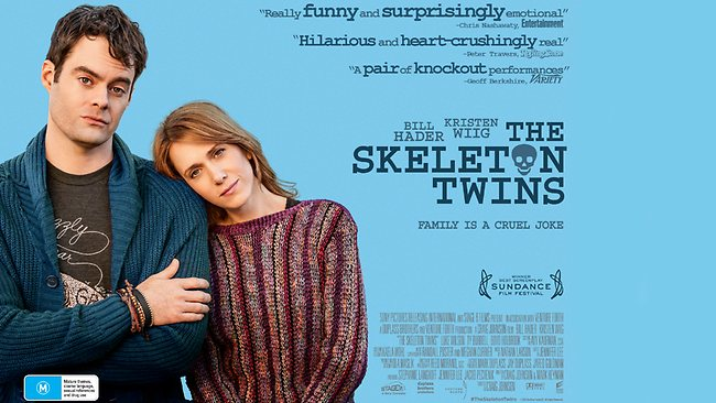 Comedy of the year? The Skeleton Twins with Kristen Wiig, Bill Hader (Trailer)