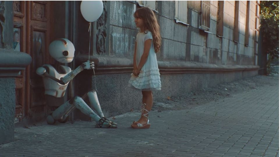 Check out the lonely Robot Story of R32 - short film