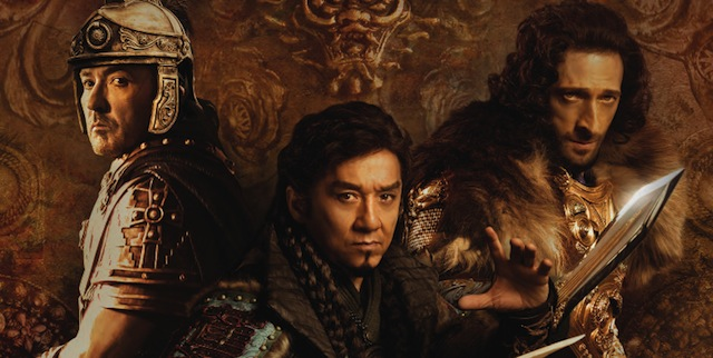 Check out new Dragon Blade Trailer feat. Jackie Chan, John Cusack & Adrien Brody