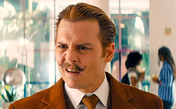 Mortdecai TRAILER #2 (2015) Johnny Depp, Gwyneth Paltrow