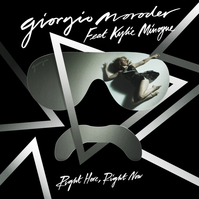 """World premiere today for the new single by Giorgio Moroder feat. Kylie Minogue - """"Right Here, Right Now"""""""