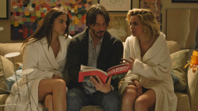 Watch the new Teaser of Keanu Reeves 'Knock Knock'