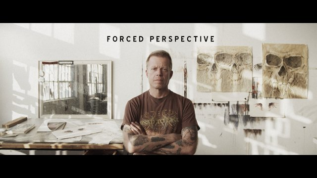 """Forced Perspective"" - The Story Of Artist Derek Hess 
