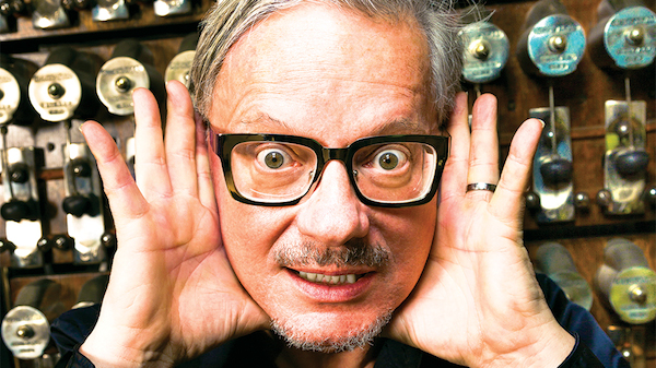 DEVO Frontman Mark Mothersbaugh Massive Collection of Synthesizers