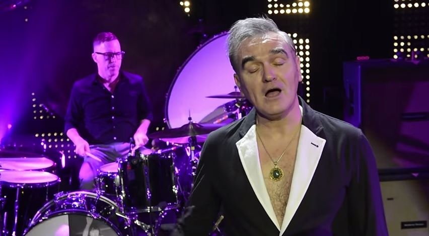 "New Video From Morrissey ""Kiss Me A Lot"""