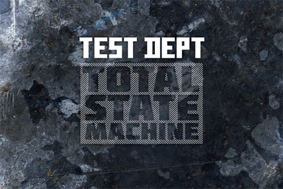 Test Dept Release the book 'Total State Machine'