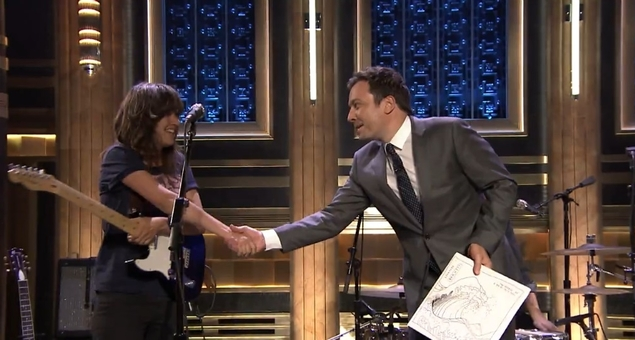 Courtney Barnett Rocks Jimmy Fallon