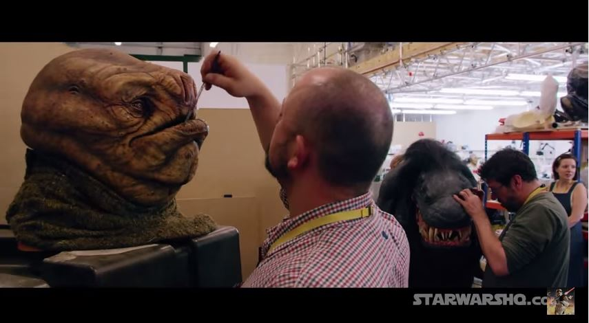 Star Wars Episode 7: The Force Awakens Trailer at Comic Con 2015 - Behind The Scenes Reel