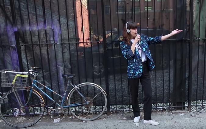 New Video From Eleanor Friedberger - 'False Alphabet City'