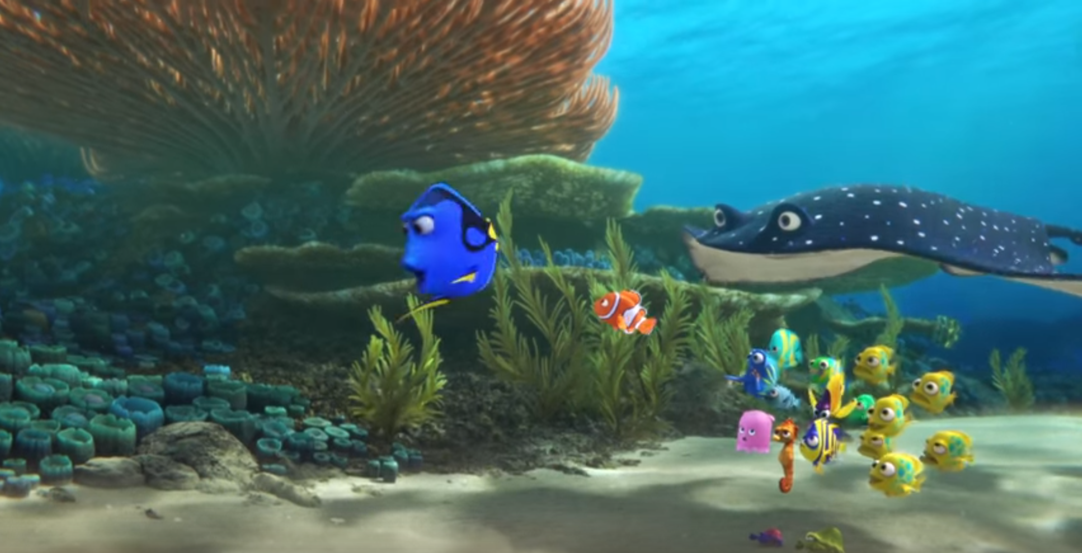 Finding Dory -New Trailer From Pixar!