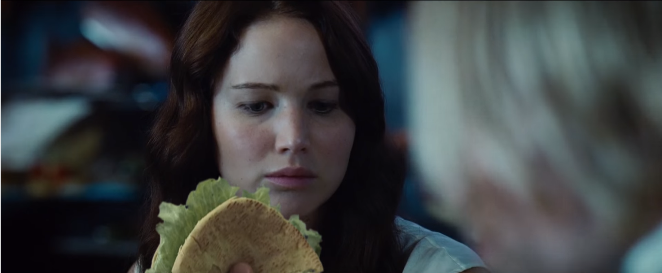 Latest Hunger Games News: Katniss sure loves Pita
