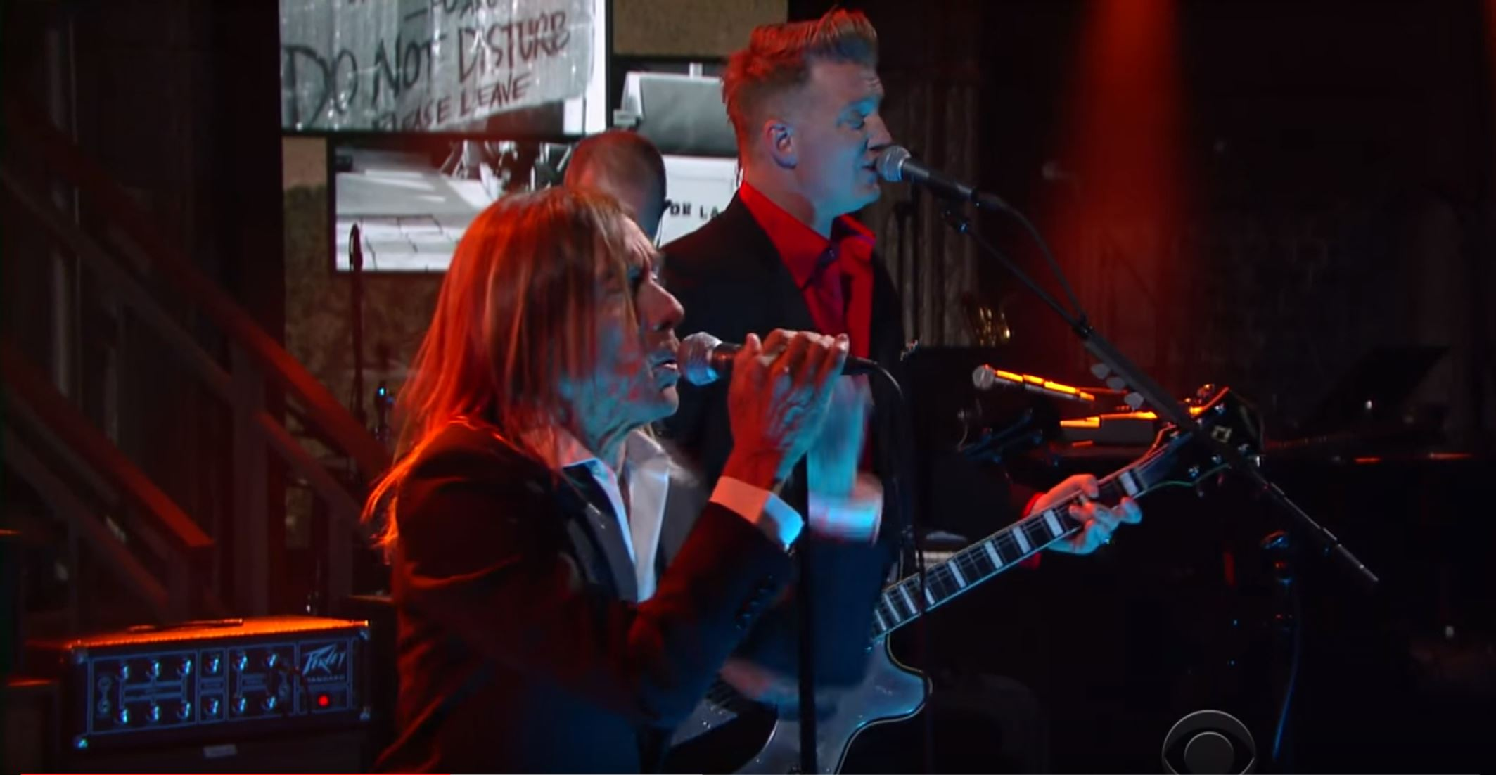 Iggy Pop Debuts New 'Gardenia' On Colbert With Josh Homme