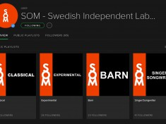 Swedish organization SOM Release Spotify Playlists for Indie Labels