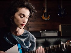 St. Vincent New Signature Ernie Ball Guitar
