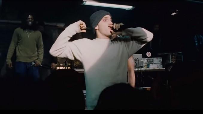 Musicless Movie / 8 MILE - Eminem Rap Battle