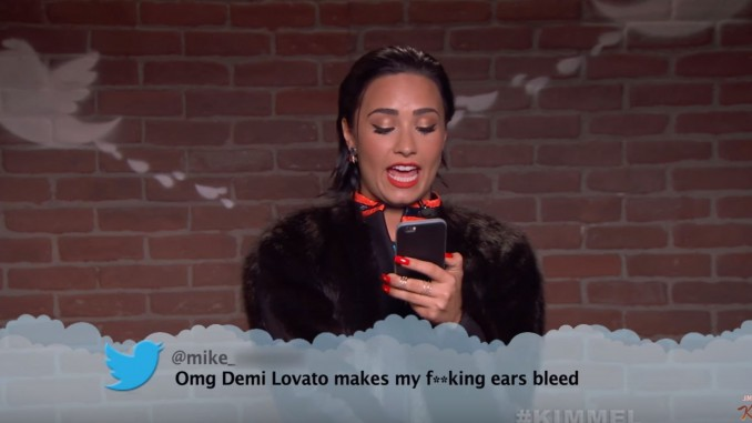 Jimmy Kimmel Let´s Musicians Read Mean Tweets About Them