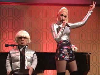 Watch Gwen Stefani & Peter Dinklage perform 'Space Pants' On SNL