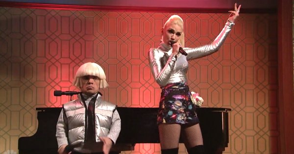 Watch Gwen Stefani & Peter Dinklage perform 'Space Pants' On SNL