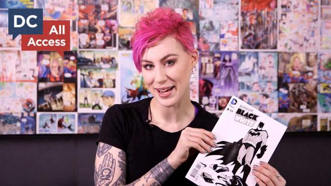 Comicbookgirl19 Reviews Batman v Superman while she makes a necklace