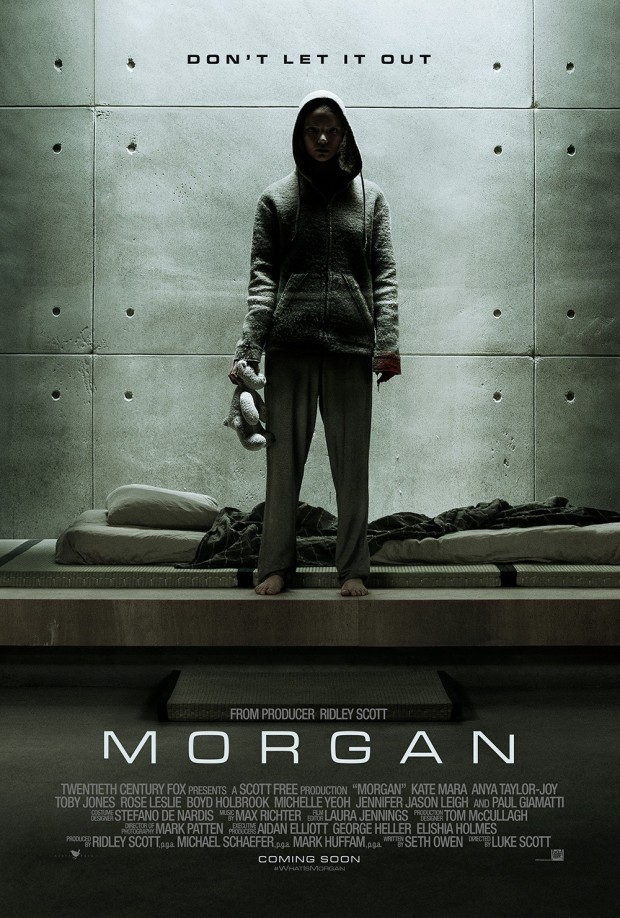 Watch The Trailer For The New Sci-Fi Movie Morgan