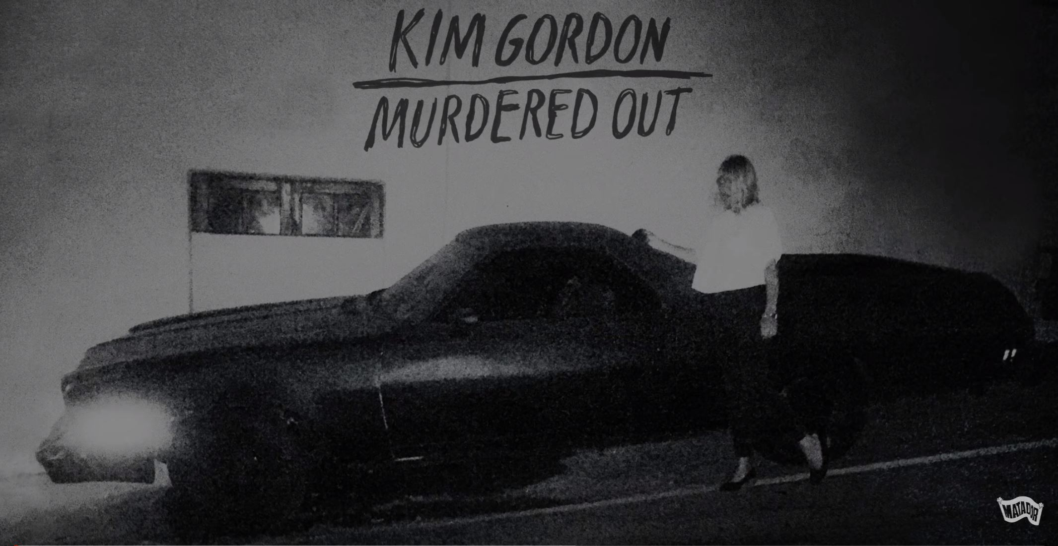 "Listen To The New Track From Sonic Youth´s Kim Gordon – ""Murdered Out"""