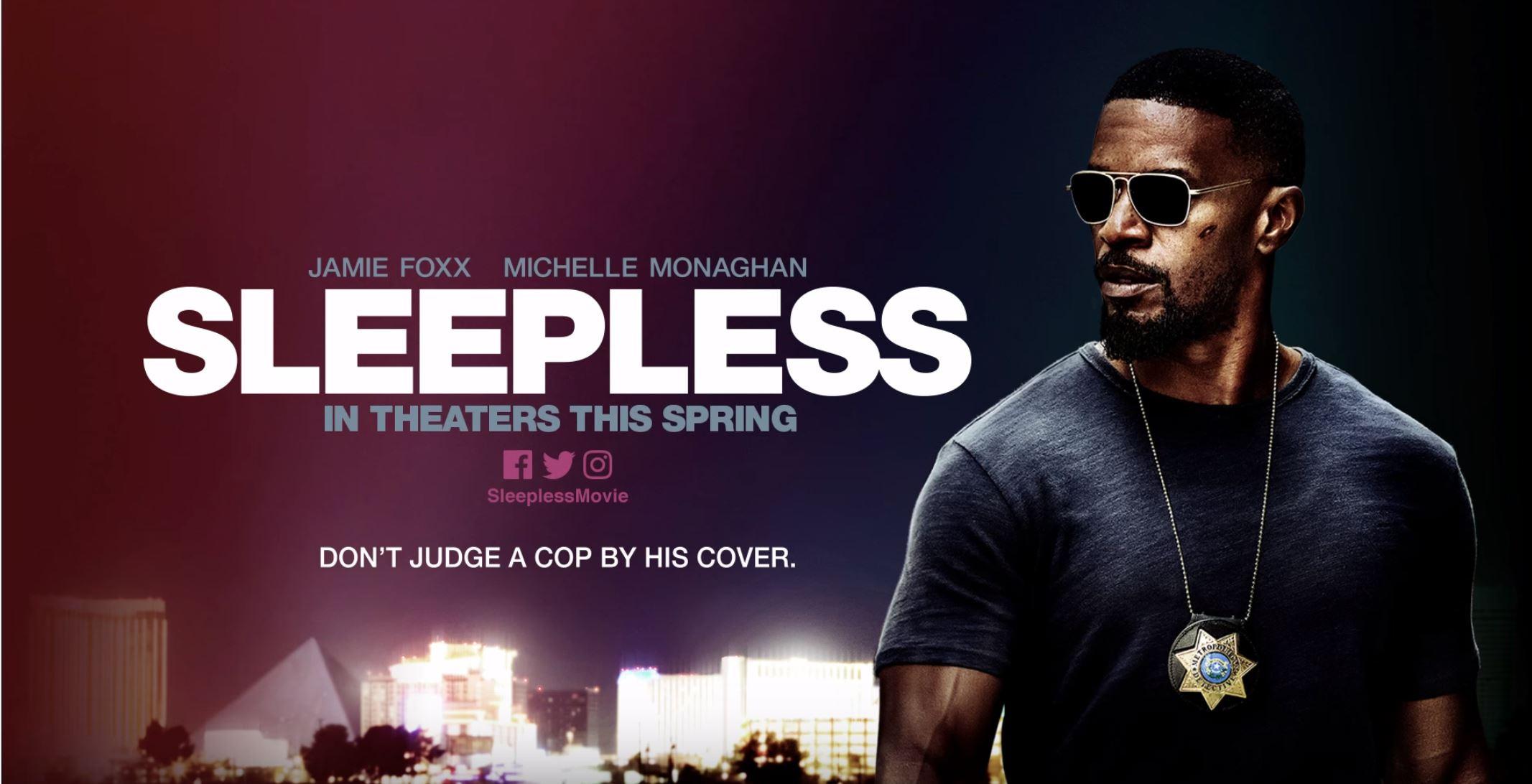Watch Jamie Foxx in new Sleepless Trailer