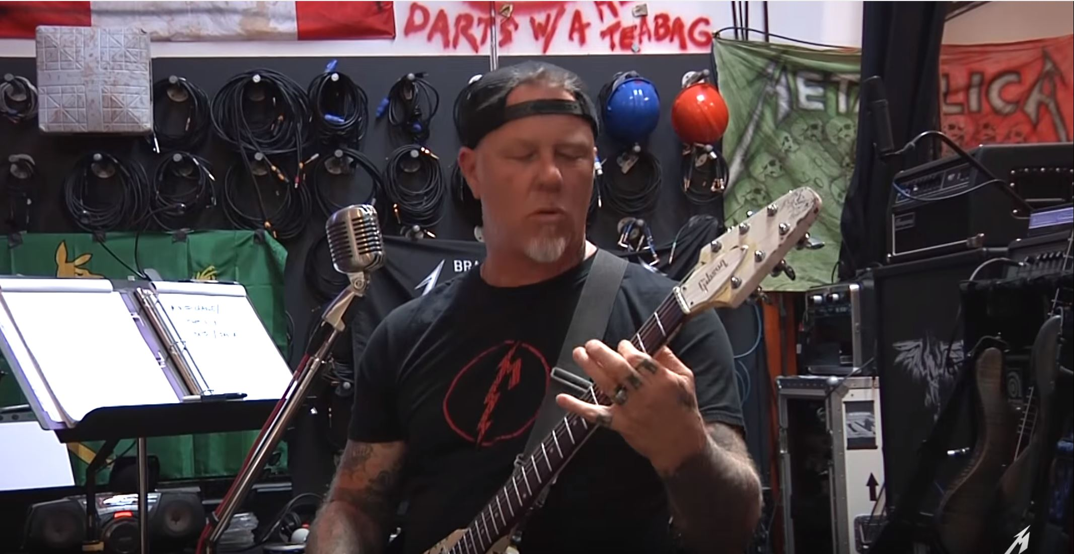 Watch Metallica Play Their New Track Atlas, Rise! In The Studio
