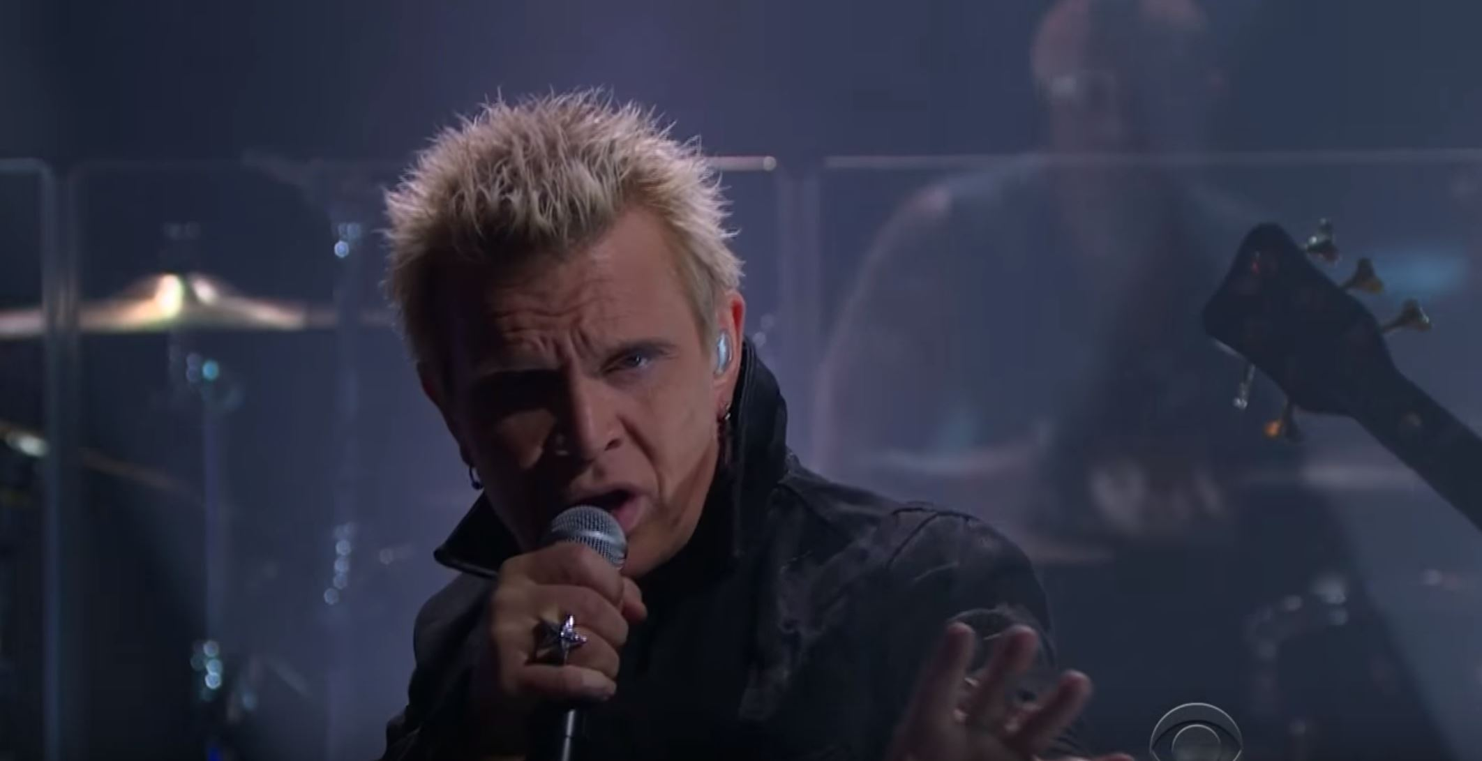 Billy Idol Makes his Return On James Corden Show With White Wedding