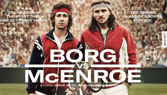Watch LaBeouf in the New Borg/McEnroe Trailer