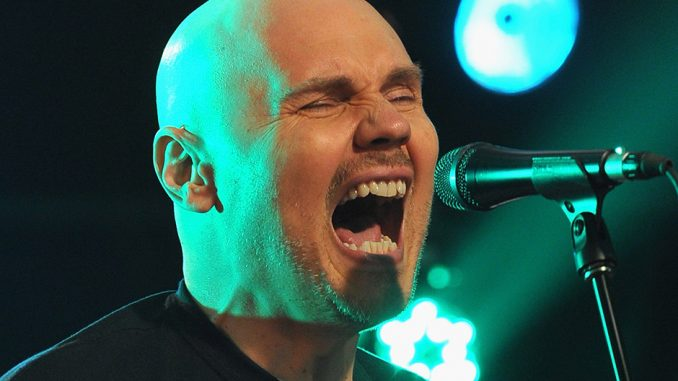 "Watch Billy Corgan cover Of Miley Cyrus ""Wrecking Ball"" Live"