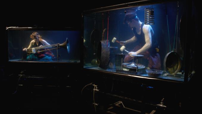 Watch The Amazing Under Water Concert With Danish Between Music: AquaSonic