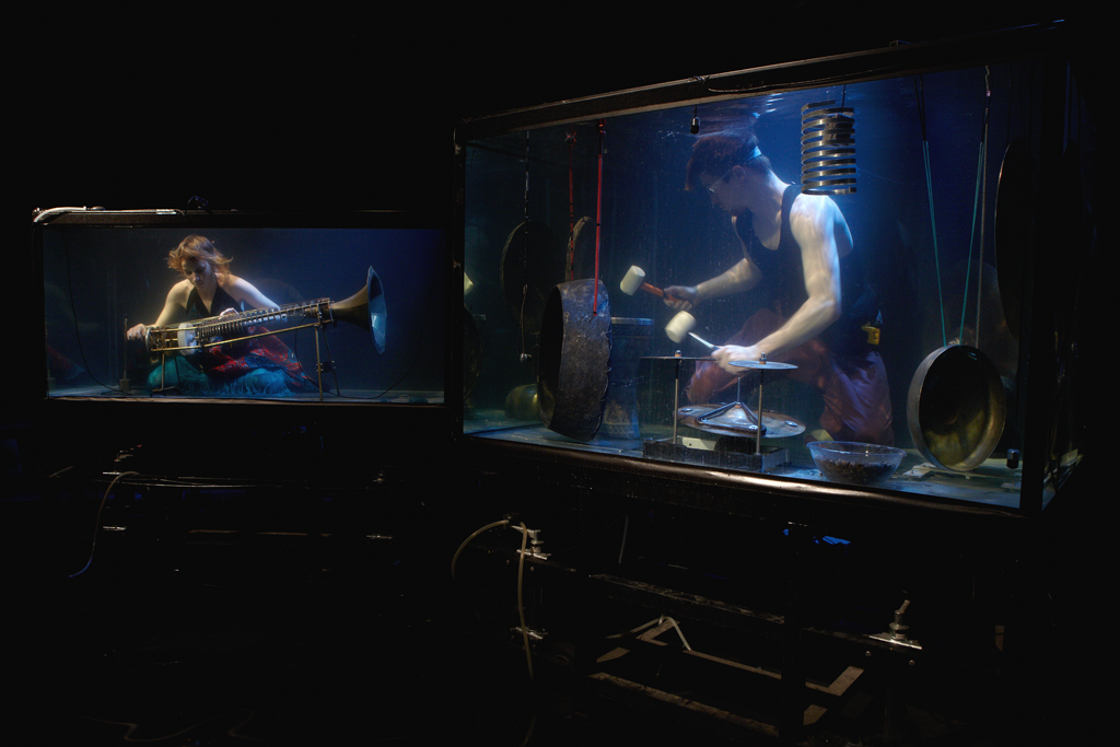 Watch The Amazing Under Water Concert With Danish Between Music: AquaSonic