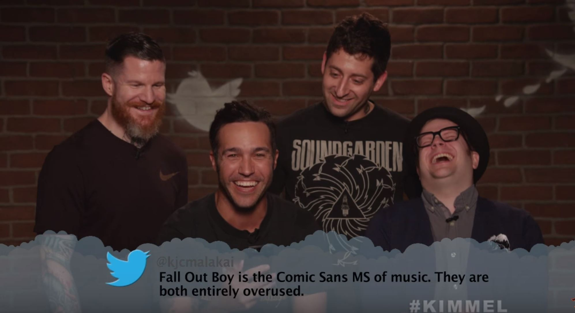 Mean Tweets – Music Edition