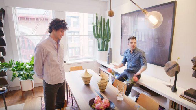 Inside Zachary Quinto's $3.2 Million NYC Loft