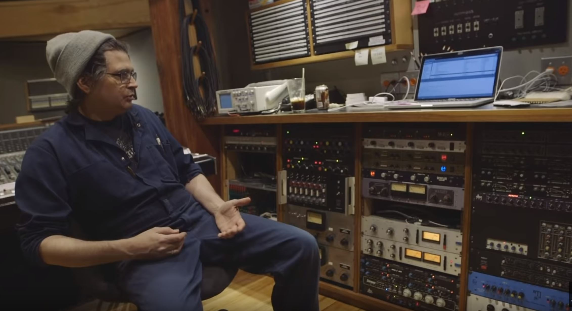 Show Us Your Junk! Steve Albini (Shellac, Big Black) Shows off his studios