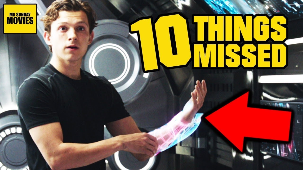 Ten Details Missed In Spider-Man: Far From Home (Trailer Breakdown)