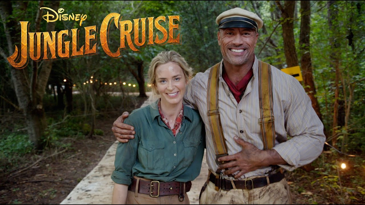 Disney's JUNGLE CRUISE - Official Trailer feat. The Rock
