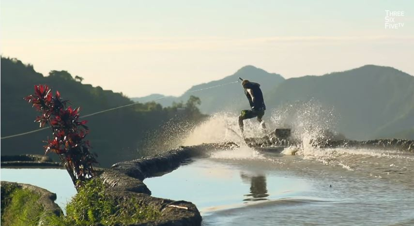 Watch: Brian Grubb wakeskates Eighth Wonder of the World