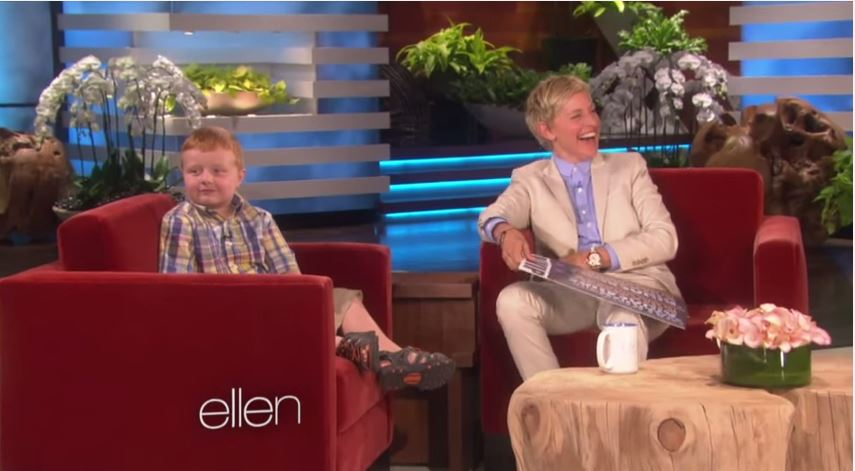 Need a good laugh? Then Watch this (Ellen Meets the 'Apparently' Kid)