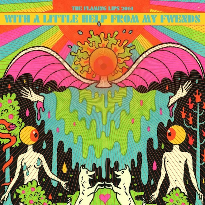 """Listen: The Flaming Lips, Miley Cyrus, and Moby´s """"Lucy in the Sky With Diamonds"""" Cover"""